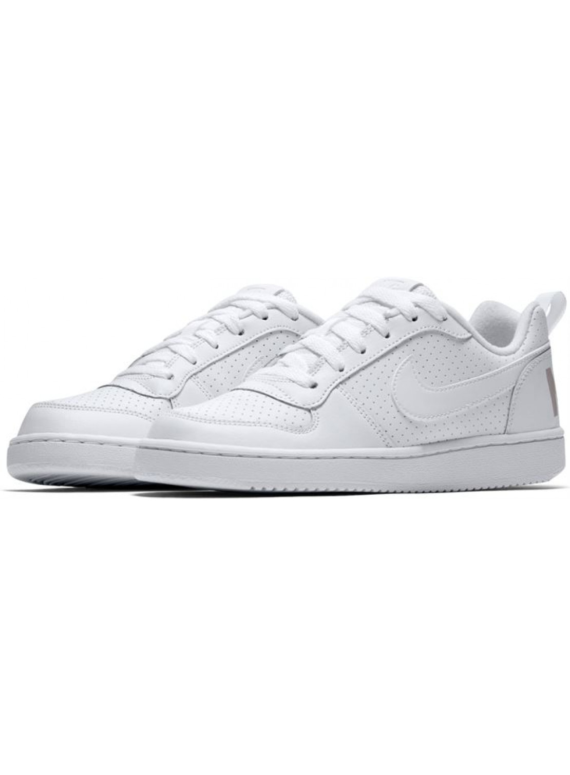 NIKE COURT BOROUGH LOW SHOES JUNIOR/WOMAN WHITE