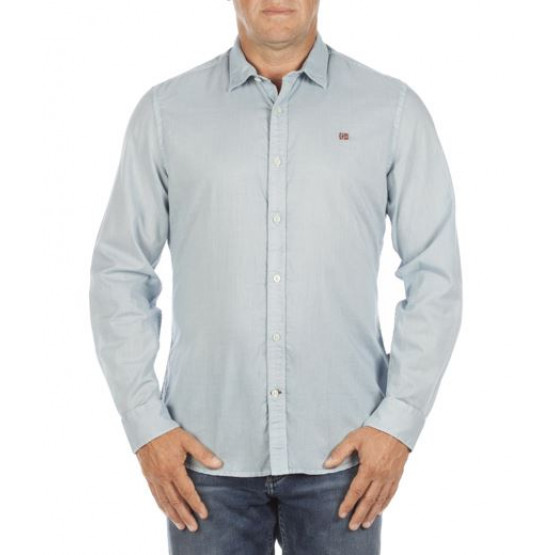 NAPAPIJRI DAWN SHIRT BLUE MAN