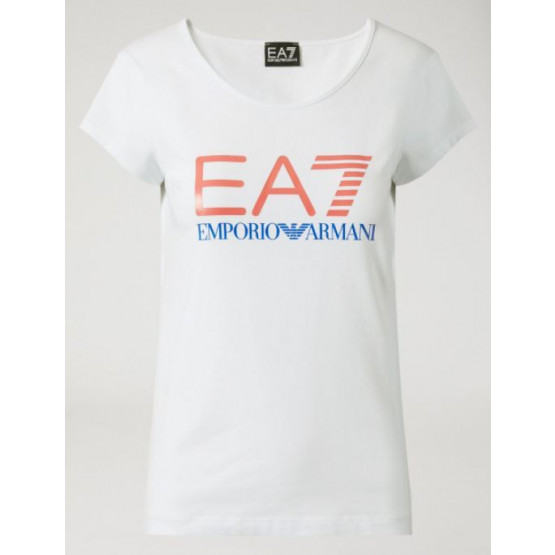 EA7 T-SHIRT WOMAN WHITE
