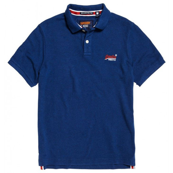 POLO SUPERDRY CLASSIC SONIX BLUE MAN