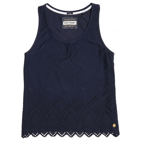 SUPERDRY PACIFIC BRODERIE ECLIPSE NAVY WOMAN T-SHIRT