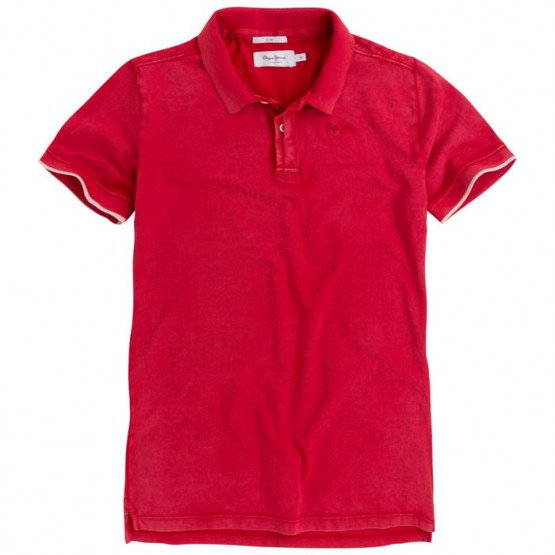 PEPE JEANS FRA RIBBON RED MAN POLO