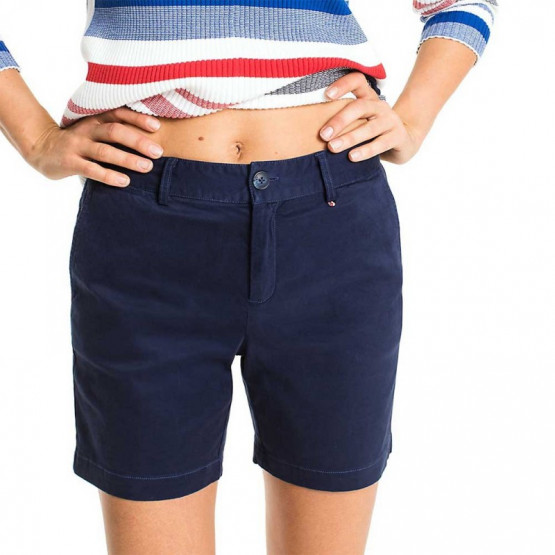 TOMMY HILFIGER ESSENTIAL BLACK IRIS SHORT