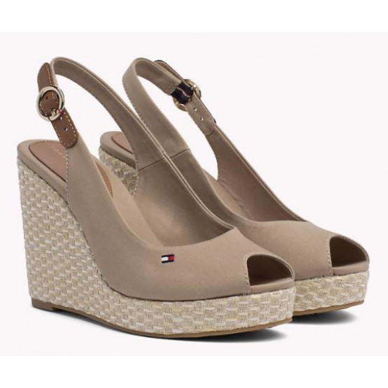 TOMMY HILFIGER  ELENA BASIC COBBLESTONE WOMAN SHOES