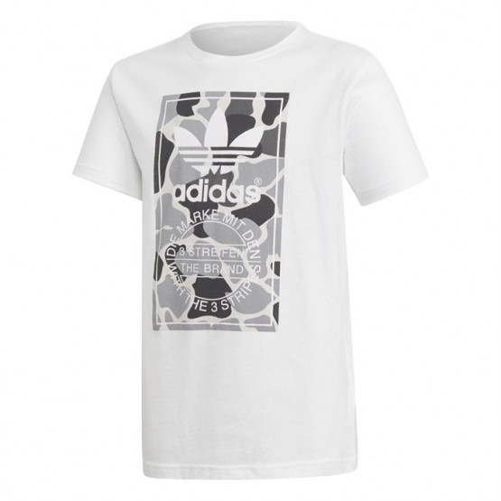 ADIDAS ORIGINALS TREFOIL WHITE TSHIRT JUNIOR