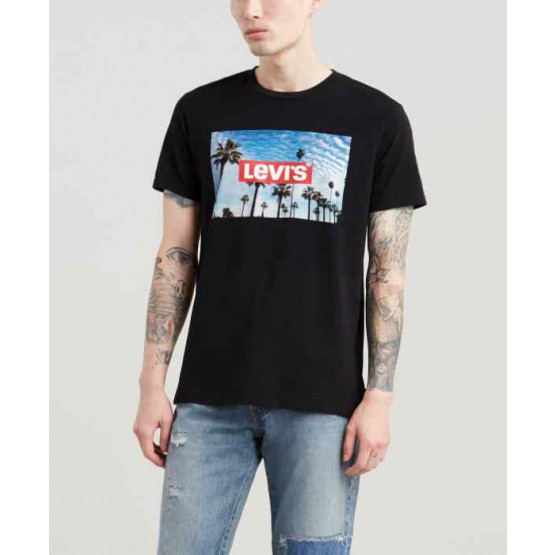 LEVIS GRAPHIC SETIN NECK 2 BLACK T-SHIRT