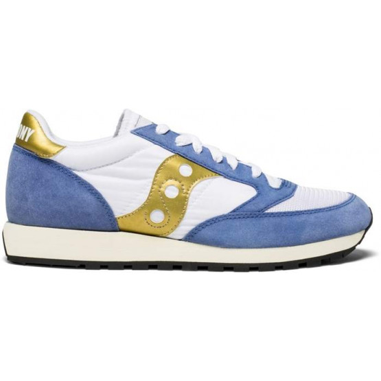 SAUCONY JAZZ VINTAGE WHITE/NAVY MAN SHOES