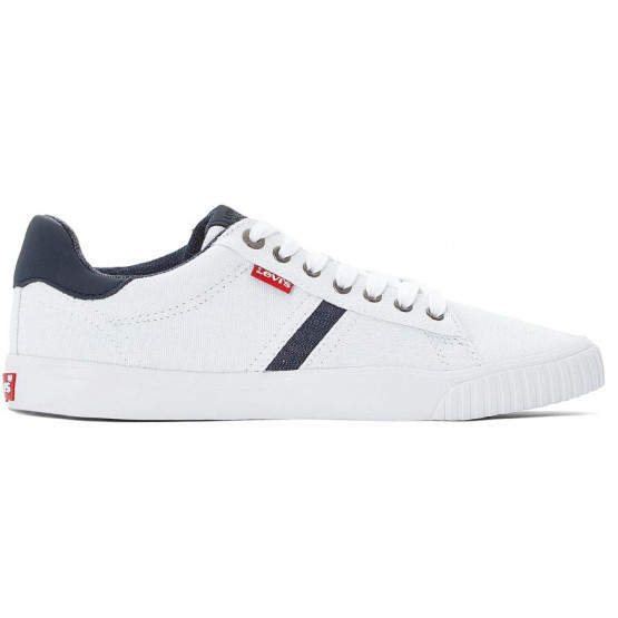 Levis Skinner Canvas White Man Shoes