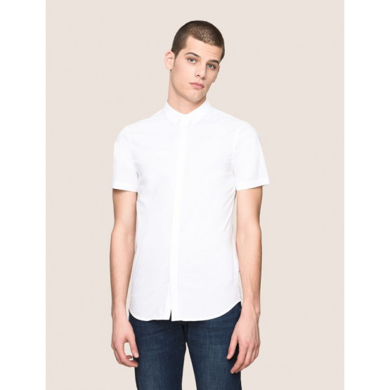 ARMANI EXCHANGE WHITE MAN SHIRT