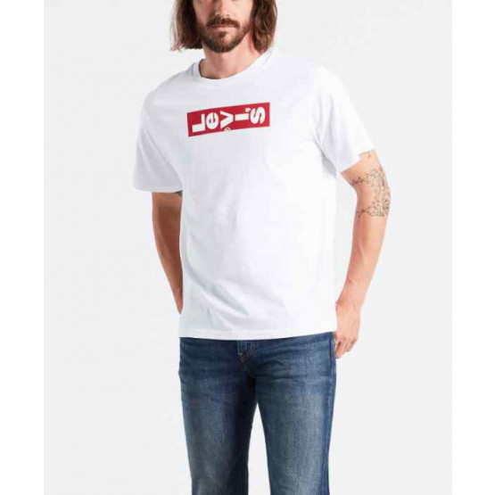 LEVIS OVERSIZED GRAPHIC WHITE T-SHIRT