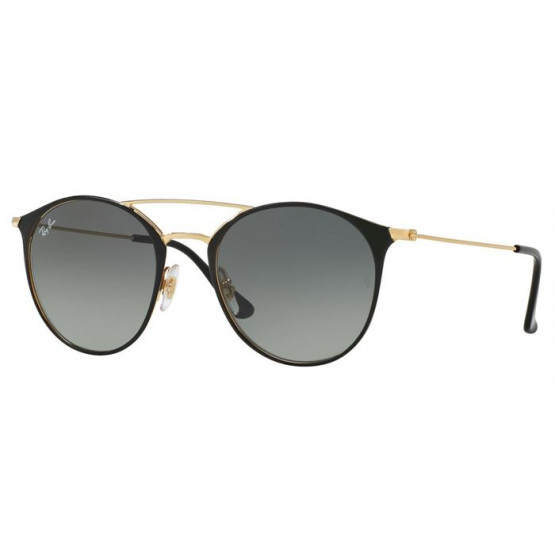 RAYBAN R3546 GOLD TOP BLACK S.49