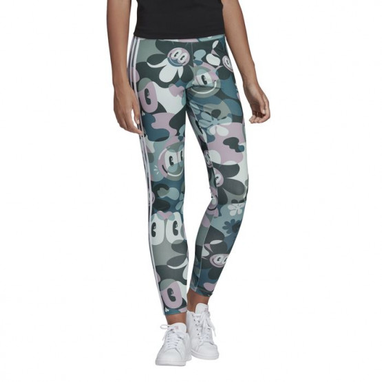 ADIDAS 3 STRIPES MULTICOLOR MULTICOLOR WOMAN LEGGINGS