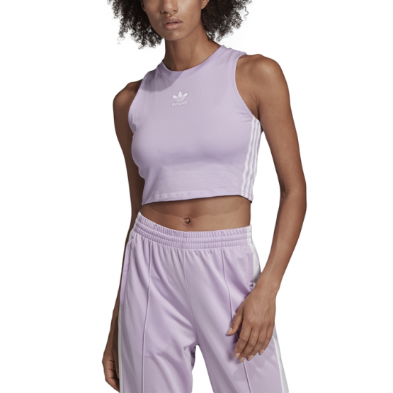 TOP ADIDAS CROP TANK PURPLE WIMAN TOP