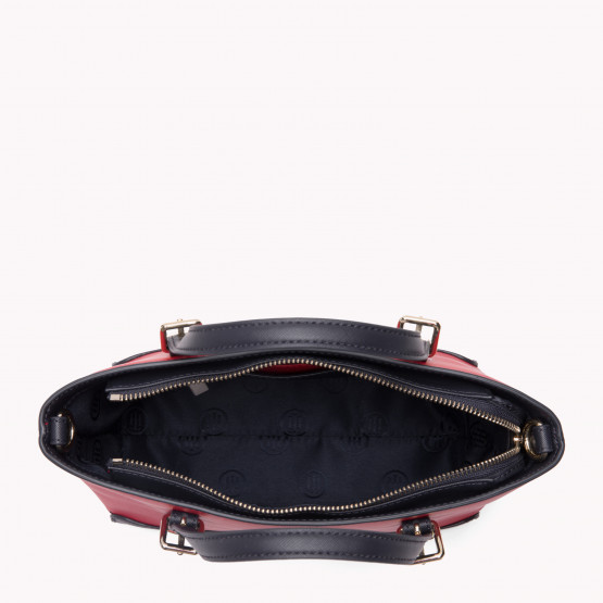 Tommy Hilfiger Honey Red/Navy Woman Bag