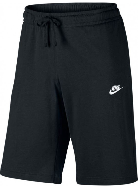NIKE JSY CLUB BLACK SHORT MAN