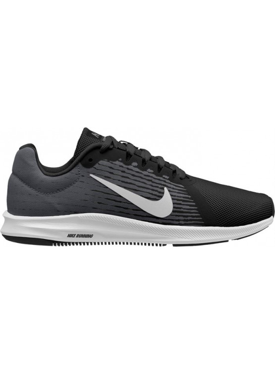 NIKE DOWNSHIFTER 8 RUNNING BLACK SHOES JUNIOR/WOMAN