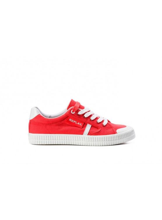 REPLAY DAYTON RED WOMAN SHOES