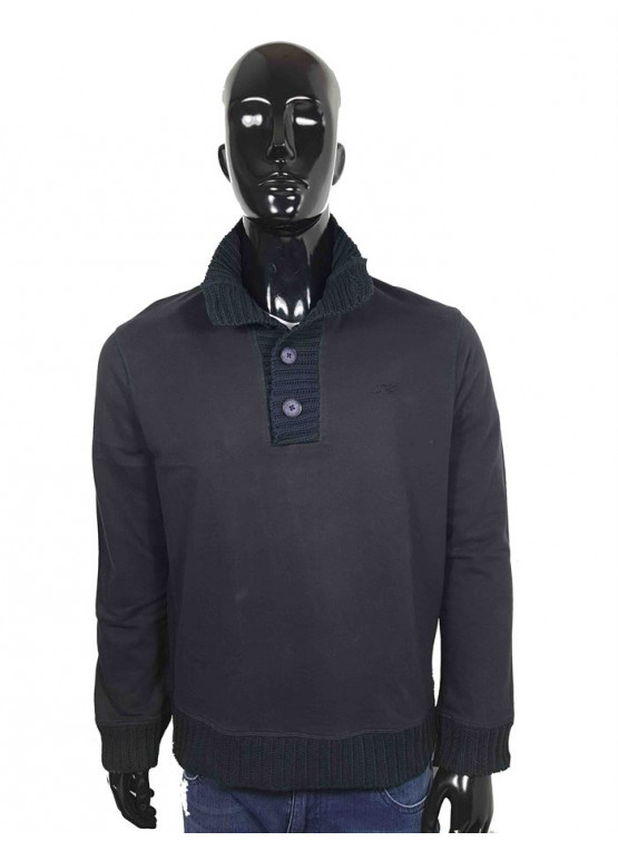 ARMANI JEANS SWEATER NERO/BLACK MAN