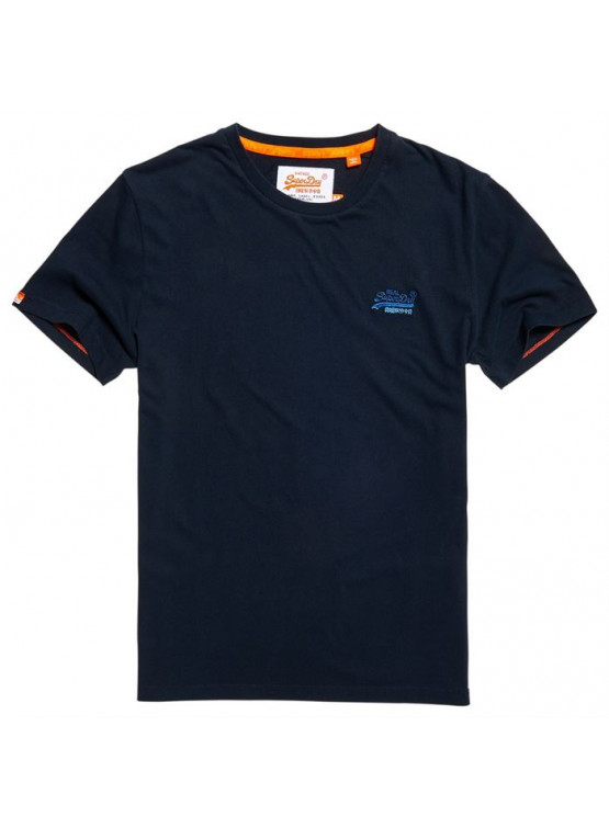 SUPERDRY VINTAGE EMB ECLIPSE NAVY TSHIRT MAN