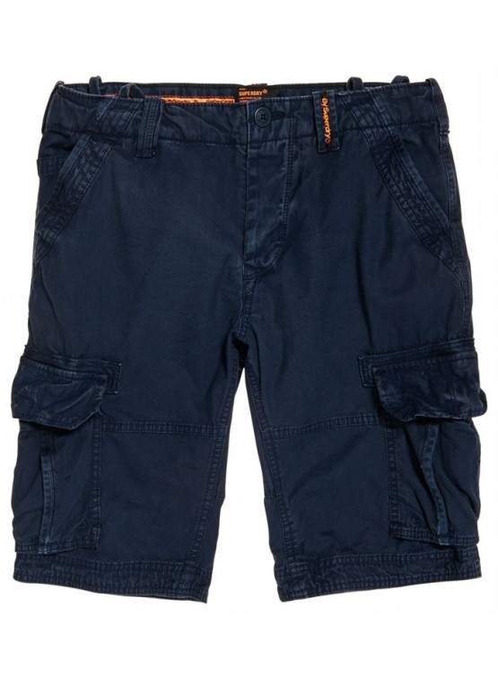 SUPERDRY CORE CARGO CHROME BLUE SHORTS MAN