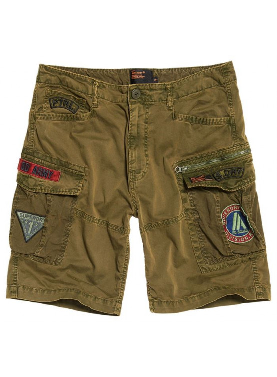 SUPERDRY LITE PARACHUTE DAKOTA GREEN SHORTS MAN