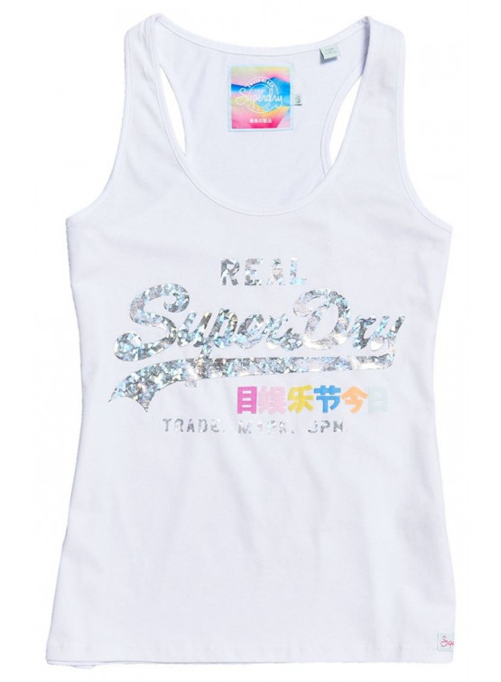 SUPERDRY GOODS ENTRY OPTIC WOMAN T-SHIRT
