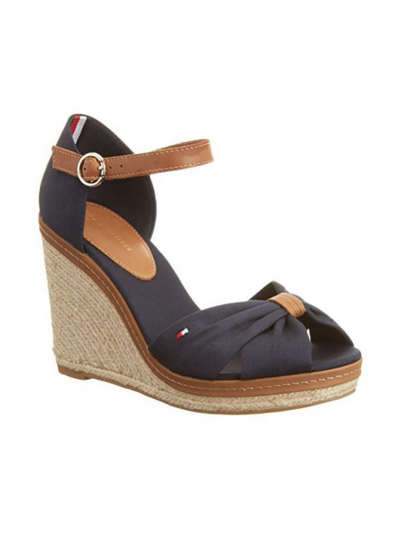 TOMMY HILFIGER SHOES ELENA BLUE WOMAN