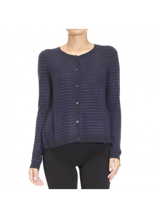 ARMANI JEANS NAVY SWEATER WOMAN