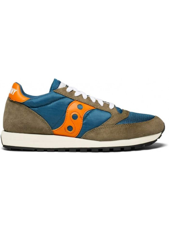SAUCONY JAZZ VINTAGE TEAL/OLIVE MAN SHOES