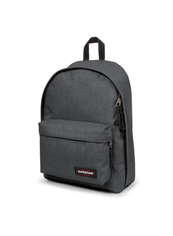 EASTPAK OUT OF OFFICE BLACK DENIM BACKPACK
