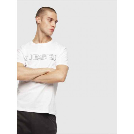 Diesel Umlt-Jake White Man T-Shirt