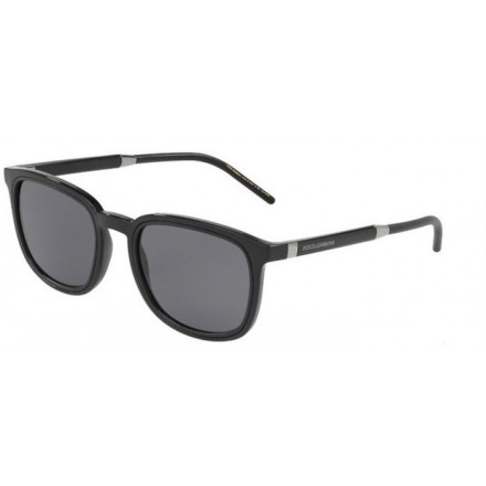 DOLCE & GABBANA DG6115 BLACK/POLAR GREY S.53