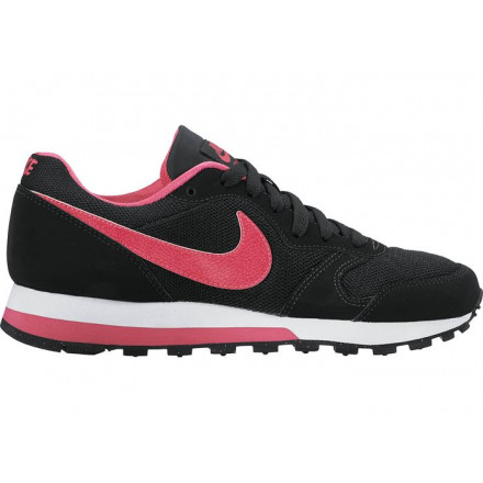 NIKE MD RUNNER 2 GS BLACK/PINK SHOES JUNIOR/WOMAN