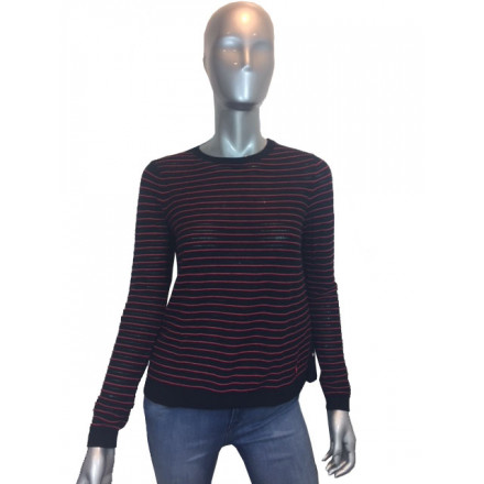 ARMANI JEANS BLACK SWEATER WOMAN