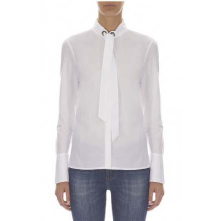 ARMANI EXCHANGE WHITE SHIRT WOMAN