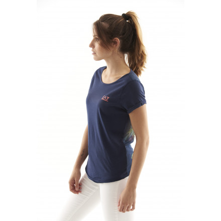 EA7 Blue T-shirt Woman