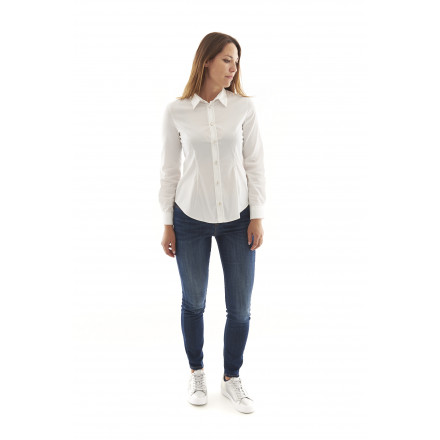 Armani Jeans White Shirt Woman