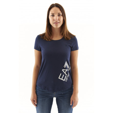 EA7 Navy Blue T-shirt Woman