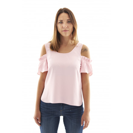Armani Exchange Pink Shirt Woman