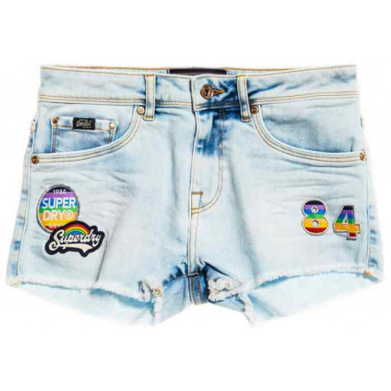 Superdry Denim Hot Woman Shorts