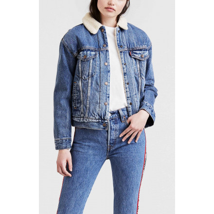 LEVIS SHERPA TRUCKER WOMAN JACKET