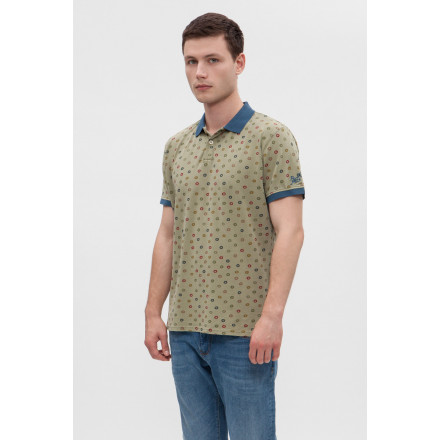 PEPE JEANS OLIVER WASHED COMBAT MAN POLO