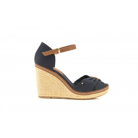 Tommy Hilfiger Navy Navy Sandals Woman