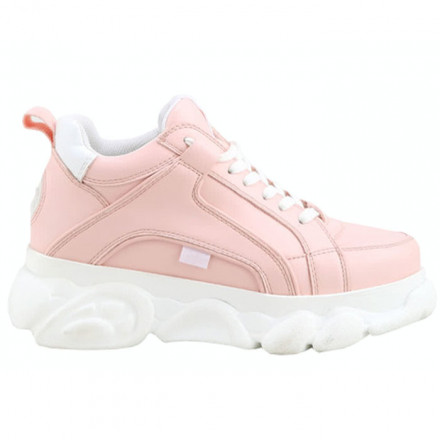 BUFFALO PINK SNEAKERS WOMAN