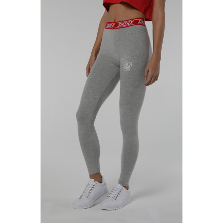 Sik Silk Elastic Waist Leggings