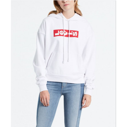 Levis hoodie Graphic Unbasic Lazy White