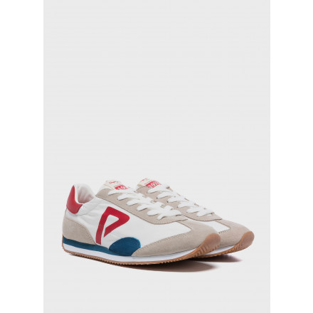 Pepe Jeans Tahiti Retro M Factory White  Man Shoes