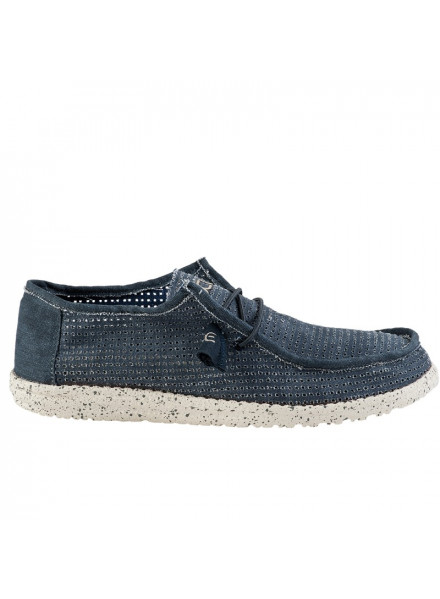 ZAPATO DUDE WALLY PERFORATED NAVY 45