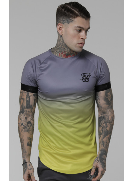 SikSilk Fade Out T-Shirt