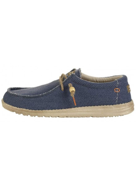 ZAPATO DUDE WALLY BRAIDED NAVY 41